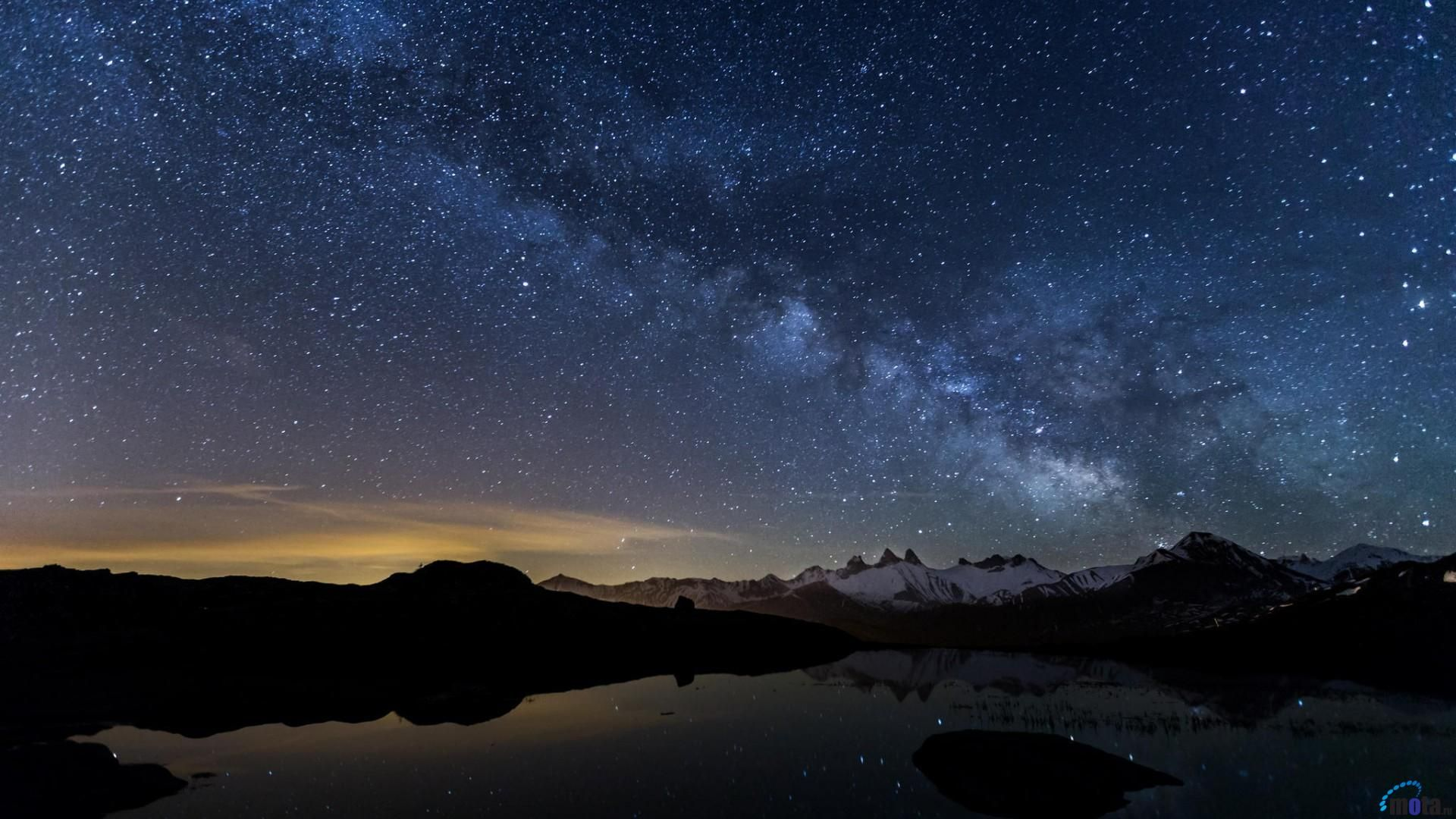 wallpaper desktop a· night sky