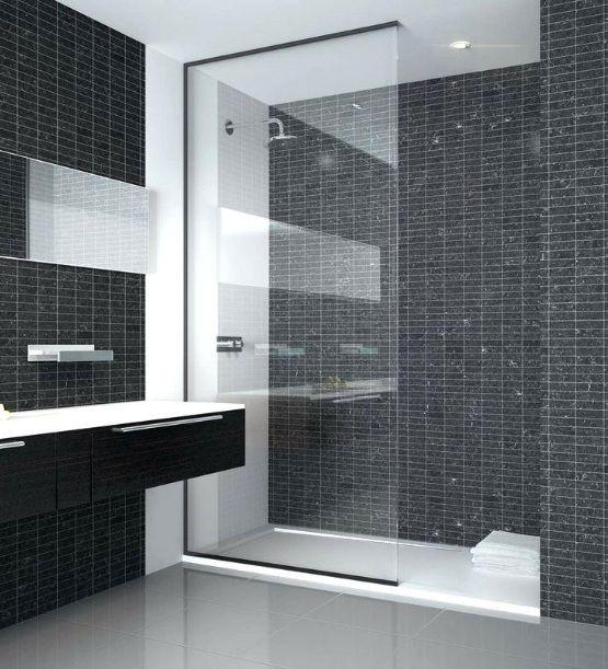 21 Small Walk In Shower Ideas No Door Bathroom Shower Panels Modern Shower Shower Doors