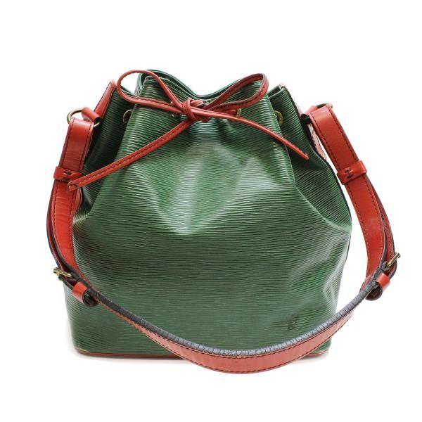 Louis Vuitton Petit Noe Epi Shoulder bags Green Leather M44147