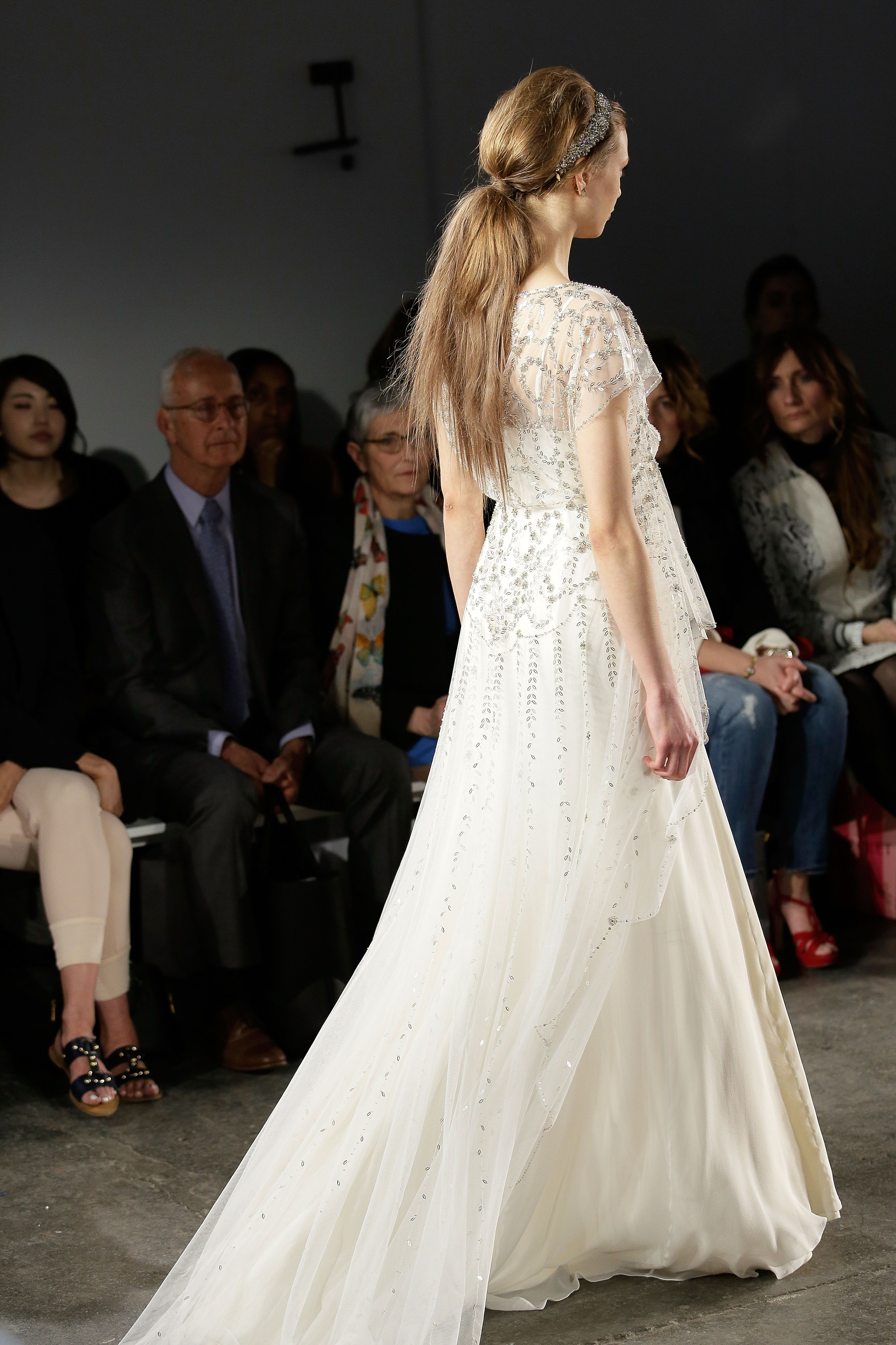 Jenny Packham 2015 Bridal Collection - Hatty Wedding Dress (Back)