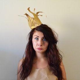 How to make a Paper Bag Princess costume! #paperbagprincesscostume
