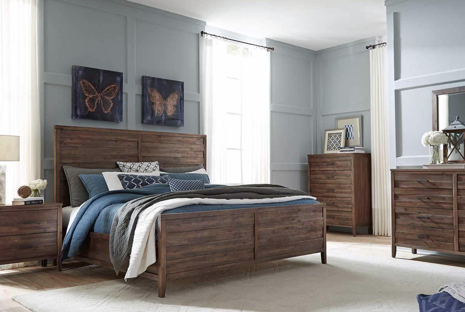 Madera Wood Bedroom Sets Modern Bedroom Furniture
