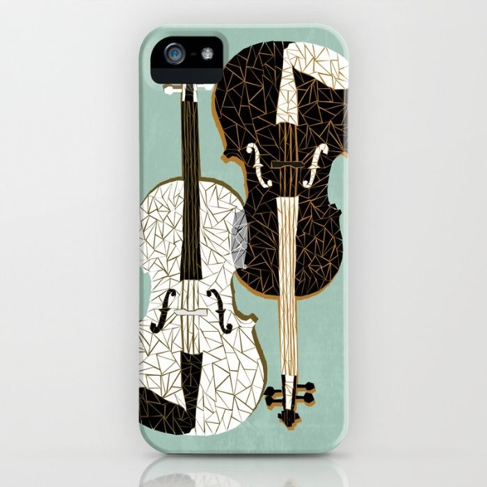 coque iphone 5 violon