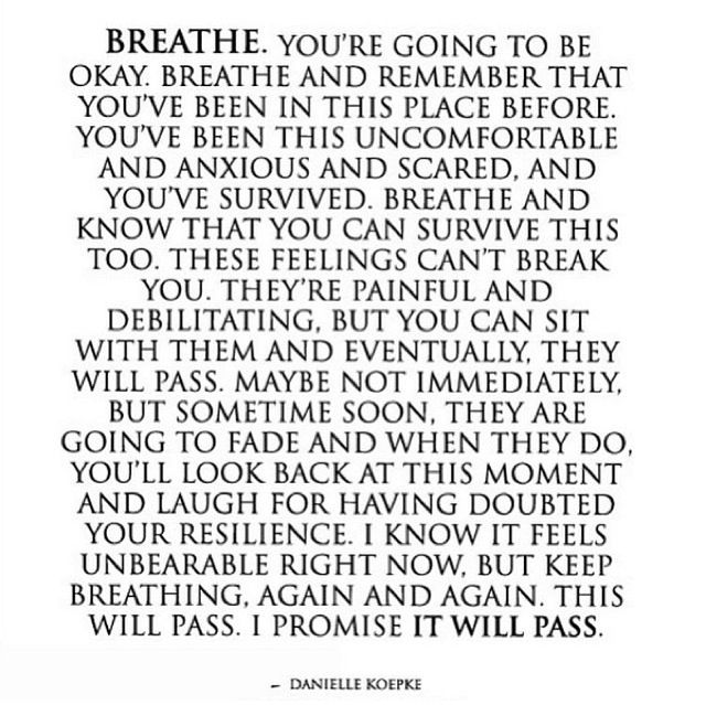 A Quote To Calm You Down Resilient Brave Fearless Crazy