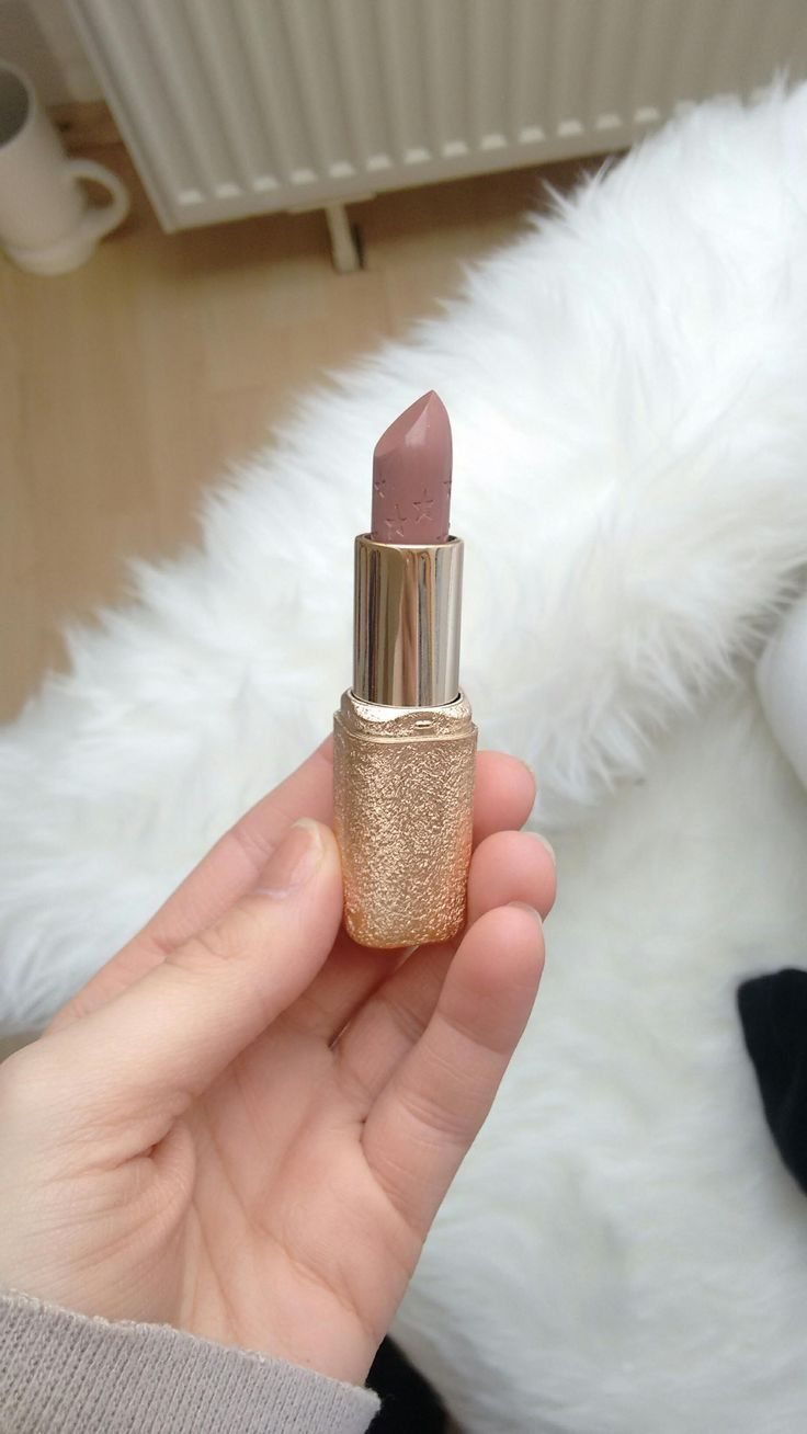 Melted my lipsticks together to get the perfect shades and textures -
