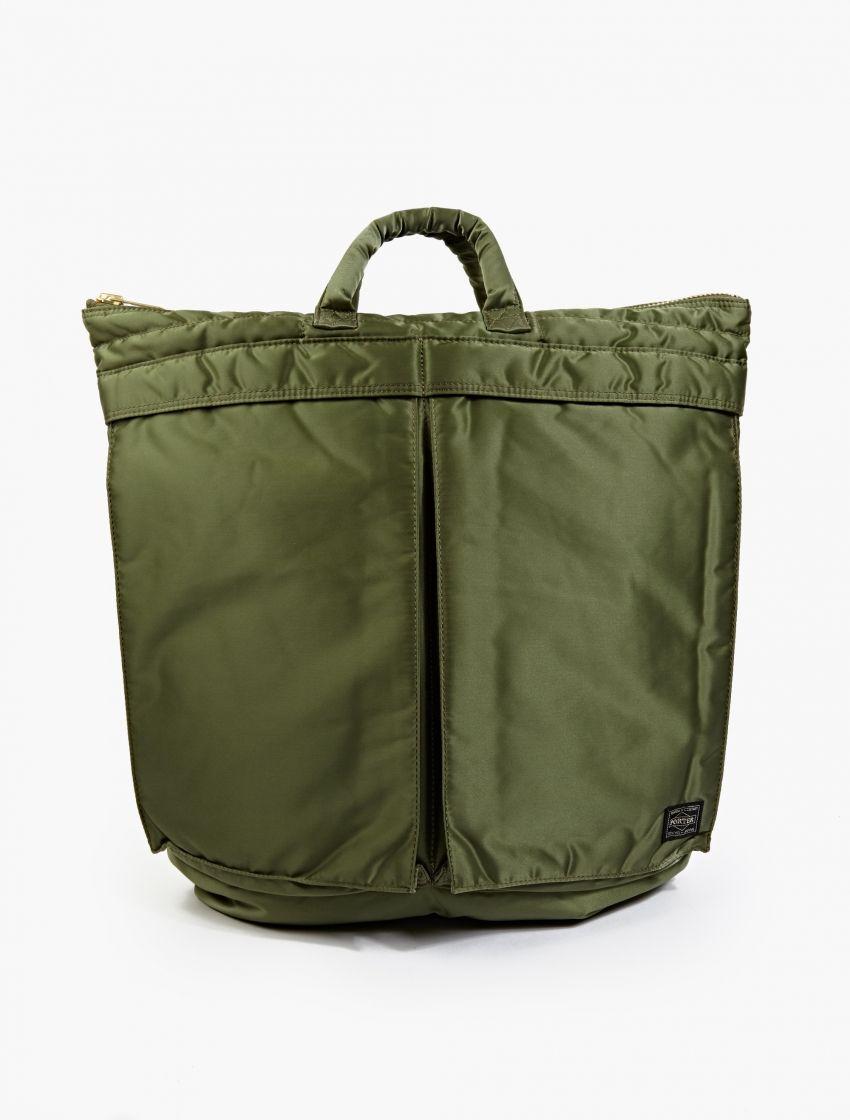 2018 Plus Récent Porter-yoshida & Co. Porter-yoshida & Co. Tanker Helmet Bag In Black Sac De Casque Citerne En Noir recommander Nouvelle Remise classique pClZEcp