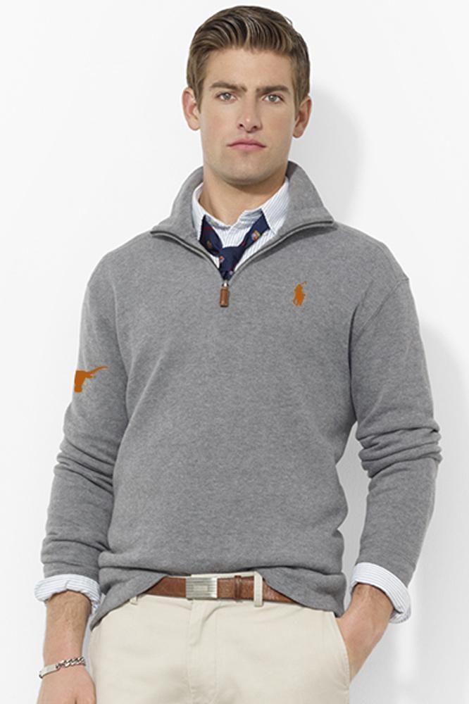 Polo Ralph Lauren Texas French Rib Half Zip Mock Pullover | Polo ...