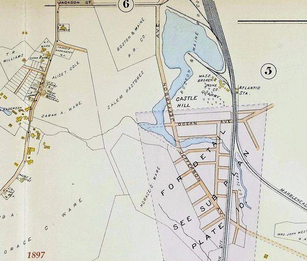 Castle Hill Map 1897 eoboard Pinterest Castles