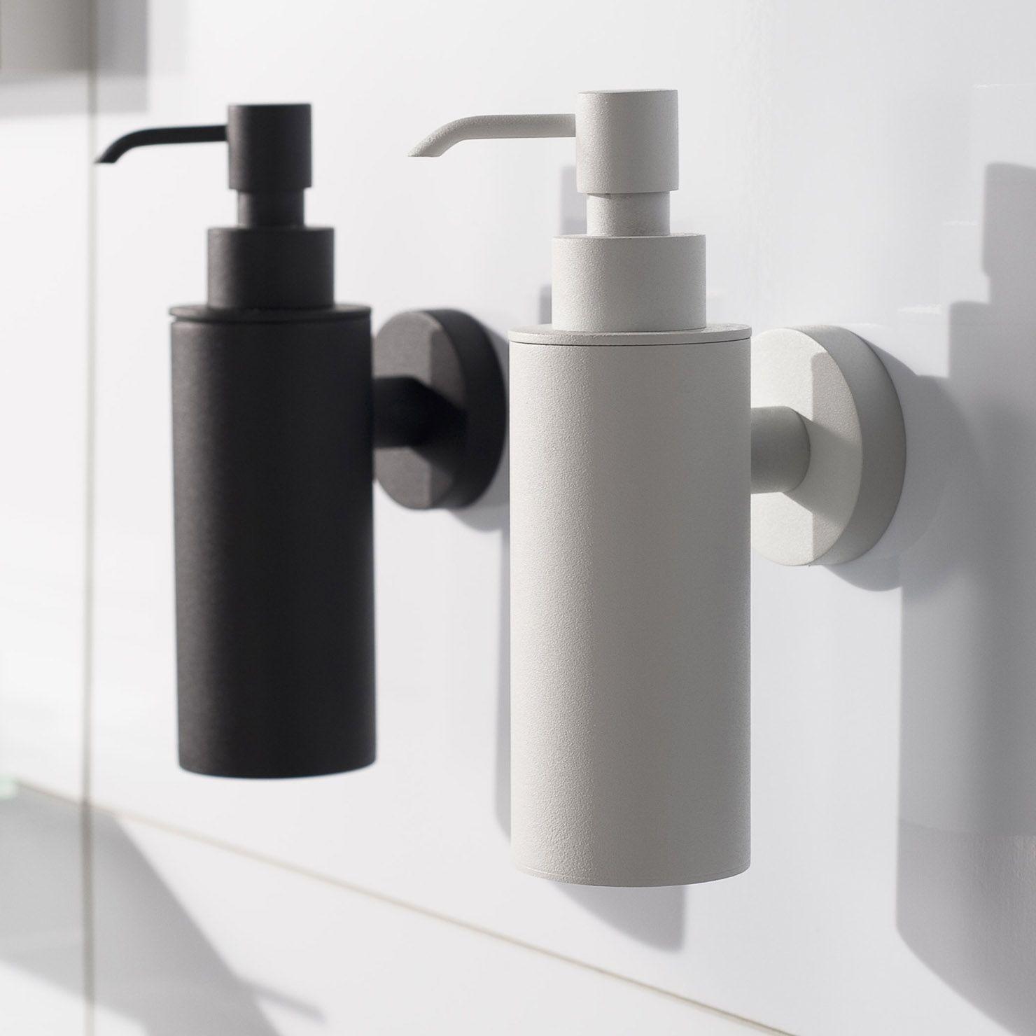 Haceka Kosmos Metal Soap Dispenser Black In 2019 Shower Soap Dispenser Bathroom Soap