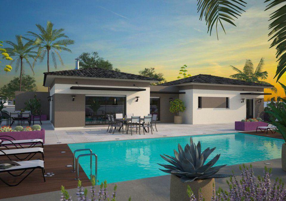 Plan maison neuve à construire - Maisons France Confort La Villa 170
