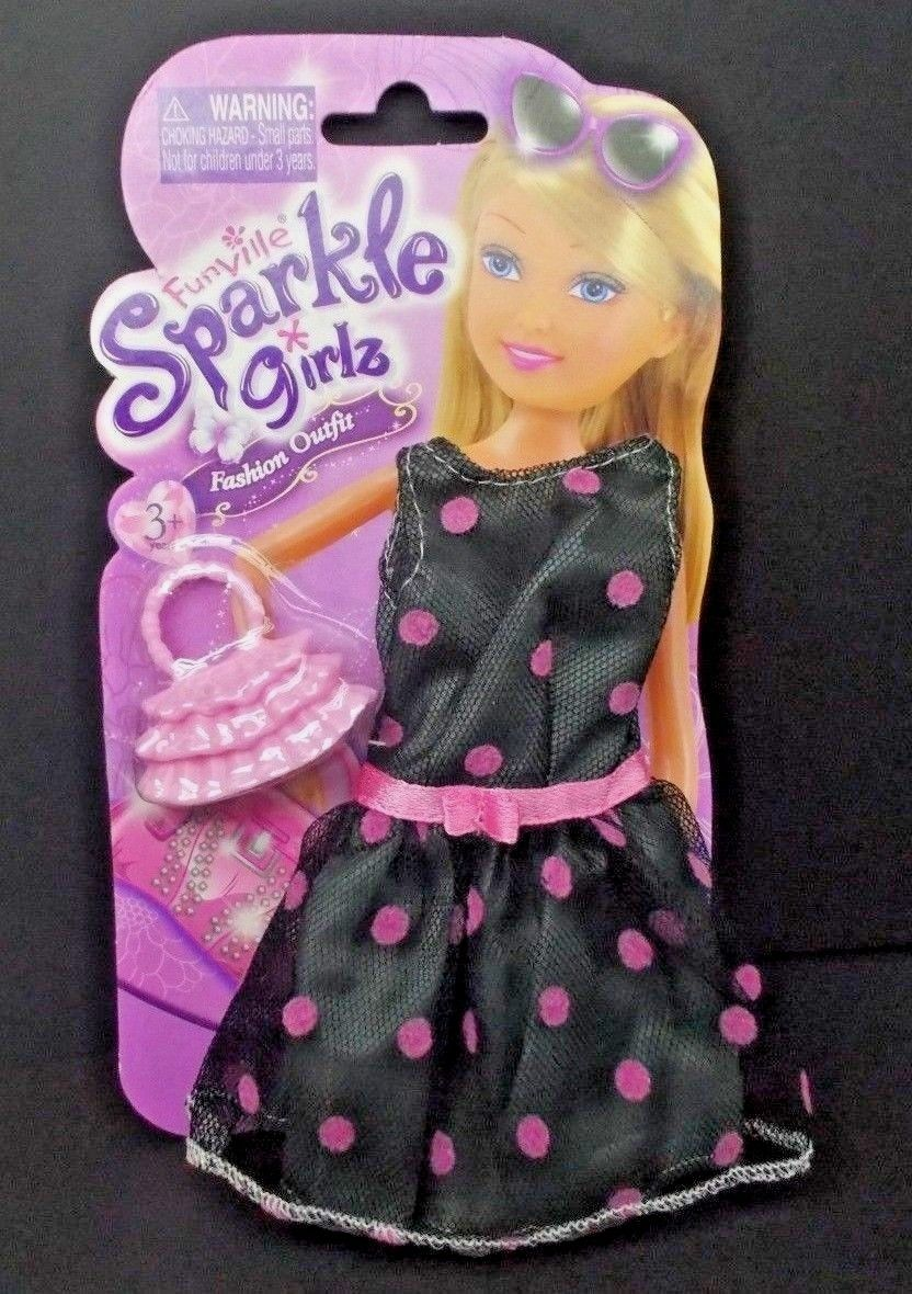 """NEW SPARKLE GIRLZ 12/"""" BARBIE DOLL CLOTHES FASHION OUTFIT Top Long Skirt /& Shoes"""