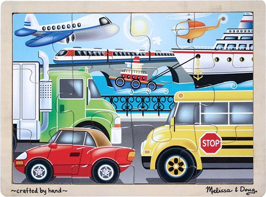 Melissa & Doug On the Go (Vehicles) Jigsaw (12 pc
