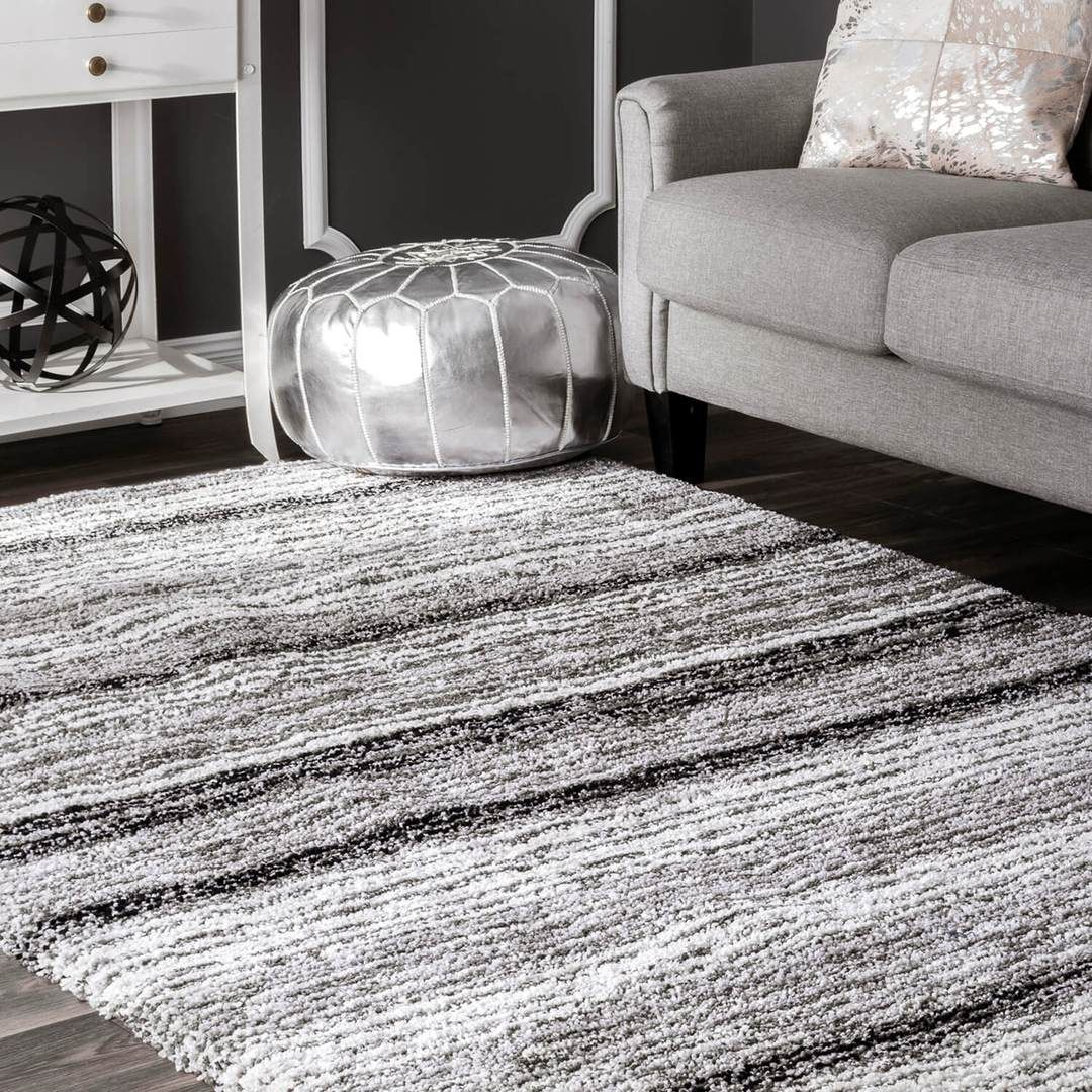 Tufted Striped Shag Rug Dormify Shaggy Rug Soft Shag Rug Rugs