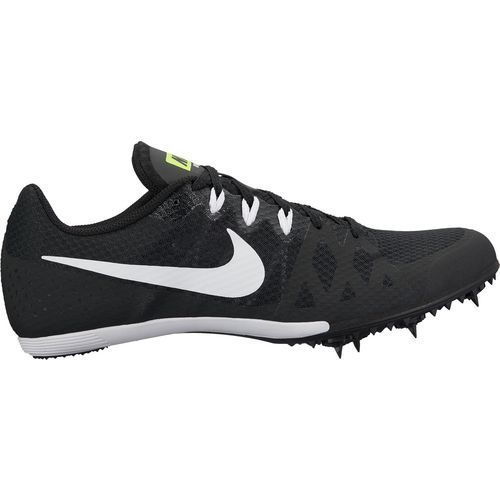 Nike Men s Zoom Rival MD 8 Track Spikes Black White Size 10 5