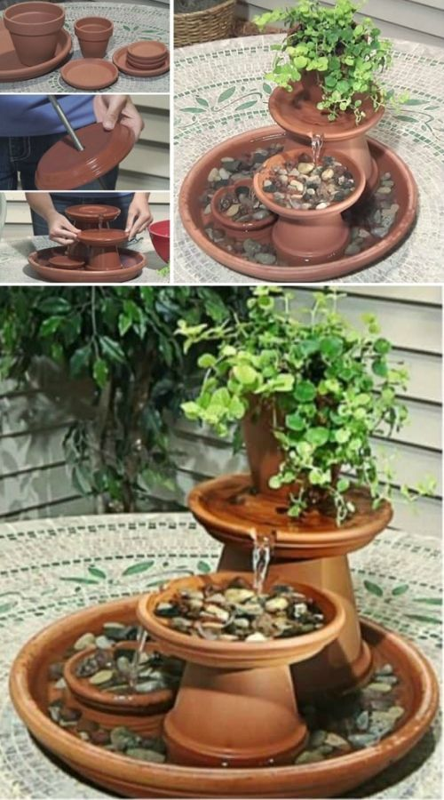 Photo of DIY Clay Pot Water Feature Instructions {Video} | The WHOot
