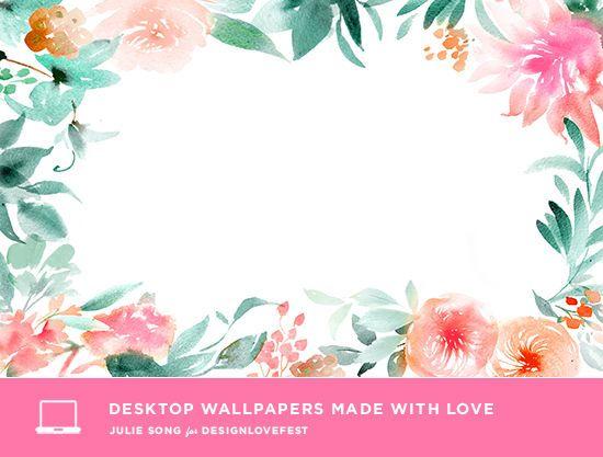Desktop wallpaper fonds d 39 cran designlovefest fleurs for Cadre photo fond ecran