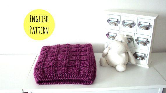 Easy Knitting Pattern Baby Blanket Easy Baby Blanket Knitting