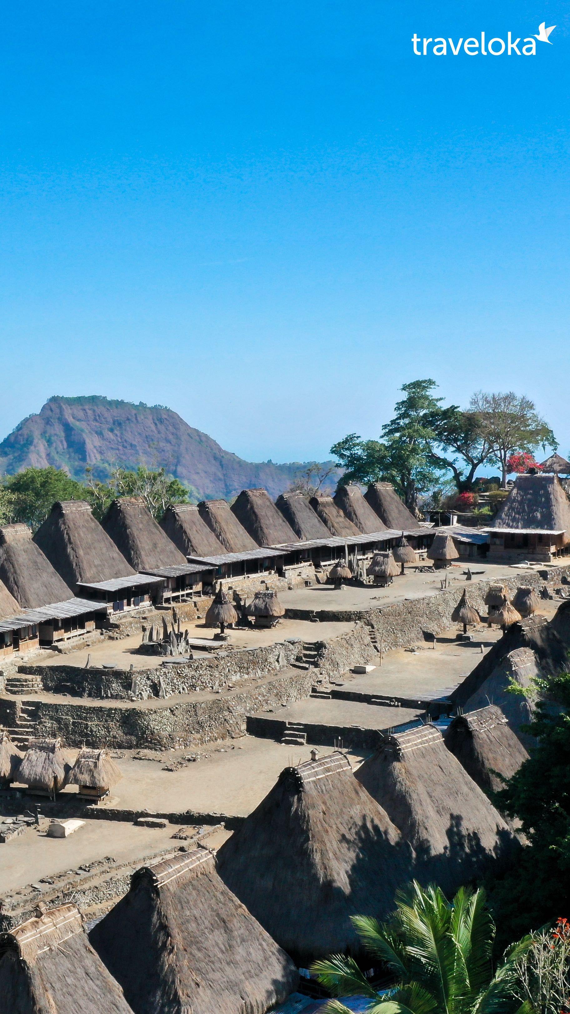 Kampung Bena Flores Ntt Pemandangan Fotografi Alam Foto Alam