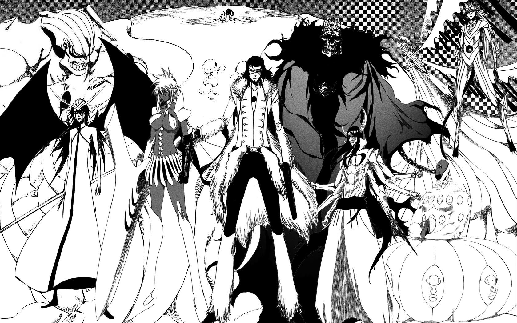 Bleach Espada Wallpapers 1080p | Bleach anime, Bleach characters ...