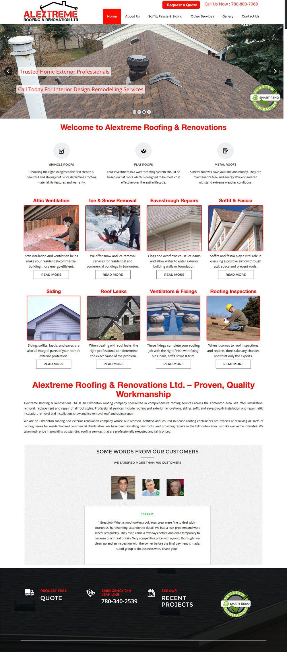 Web Design Portfolio By Calgary Top Web Developers Portfolio Web Design Portfolio Website Design Portfolio Design