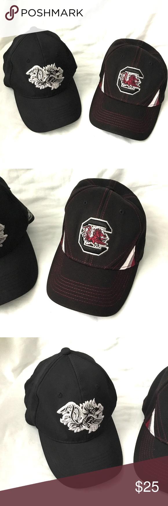 497c5eabb04a NCAA South Carolina Gamecock Hat Lot Of 2 in 2018