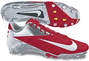 Nike Vapor Talon Elite Low 500068-610 Game Red/Chrome//White -