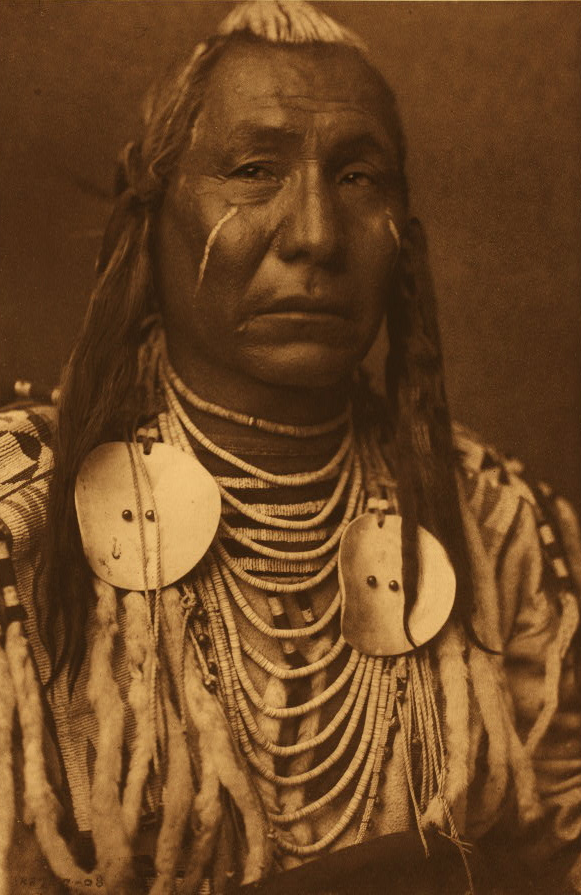 Red Wing - Crow - 1908 RED WING, AhpfA/hyf'h Born about i858. Mountain Crow; Piegan Lodge clan; Lumpwood society. Obtaining no medicine by fasting, he purchased that of brown crane and owl, and led a successful war-party with it. Captured two guns in battle. When stationed at Fort Custer as United States scout he accompanied a detachment of troops in pursuit of Sioux horse-raiders; the latter surrendered, and Red Wing shook hands with one of them, subsequently claiming dkakAhi since he had…