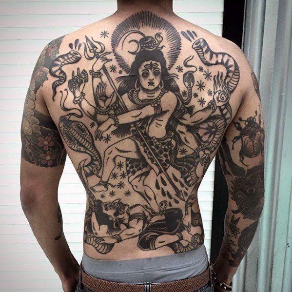 60 Shiva Tattoo Designs For Men Hinduism Ink Ideas Tatu Tattoo