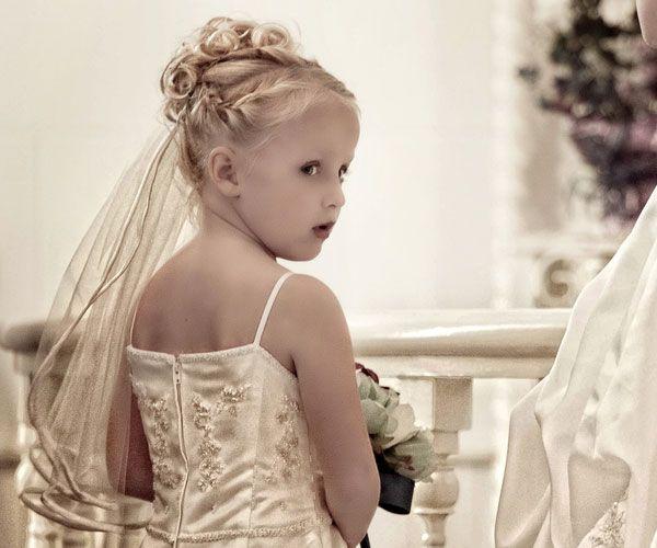 Lil Bridesmaid Hairstyleswedding