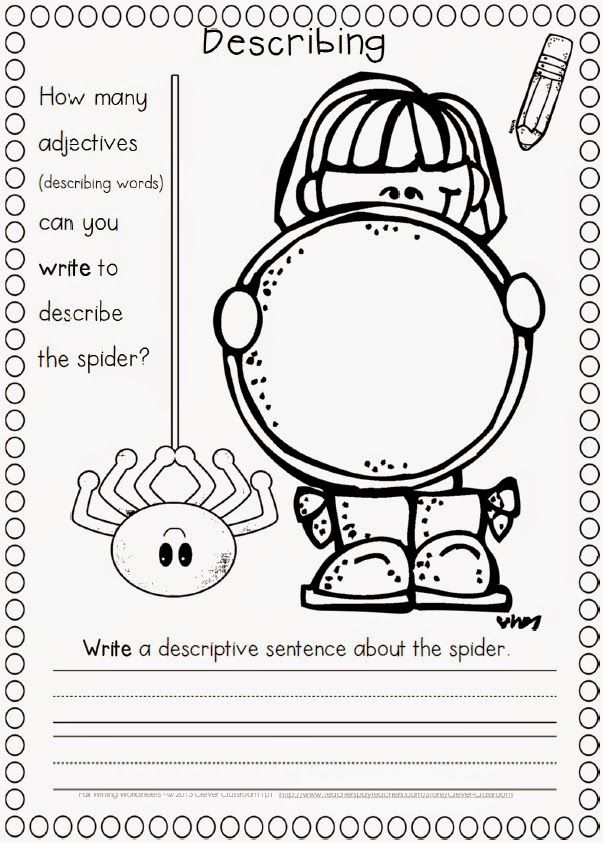 Printable Worksheets halloween adjectives worksheets : Free Halloween Apps and More | 1st Grade | Pinterest | Halloween ...