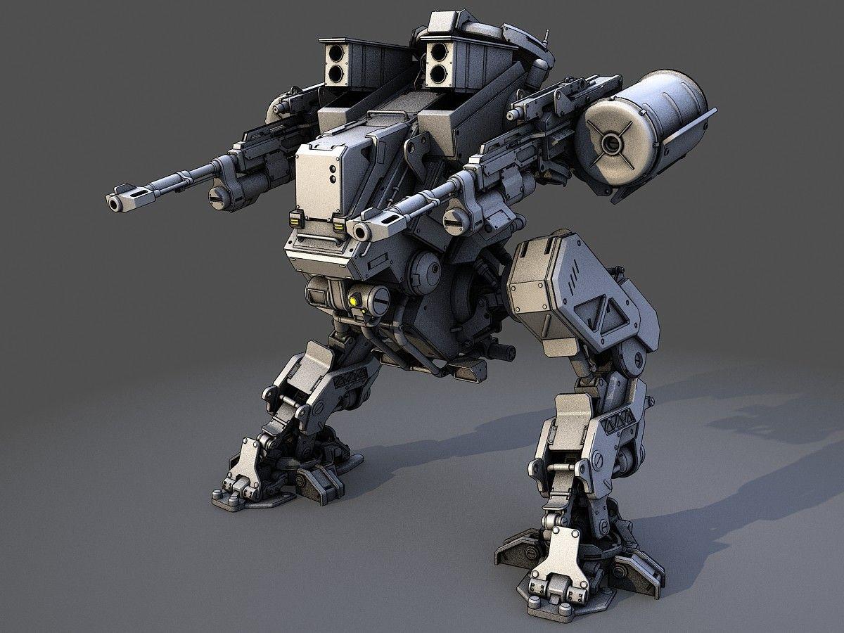 robot 3d model | Vehicle Concepts in 2019 | Robot design