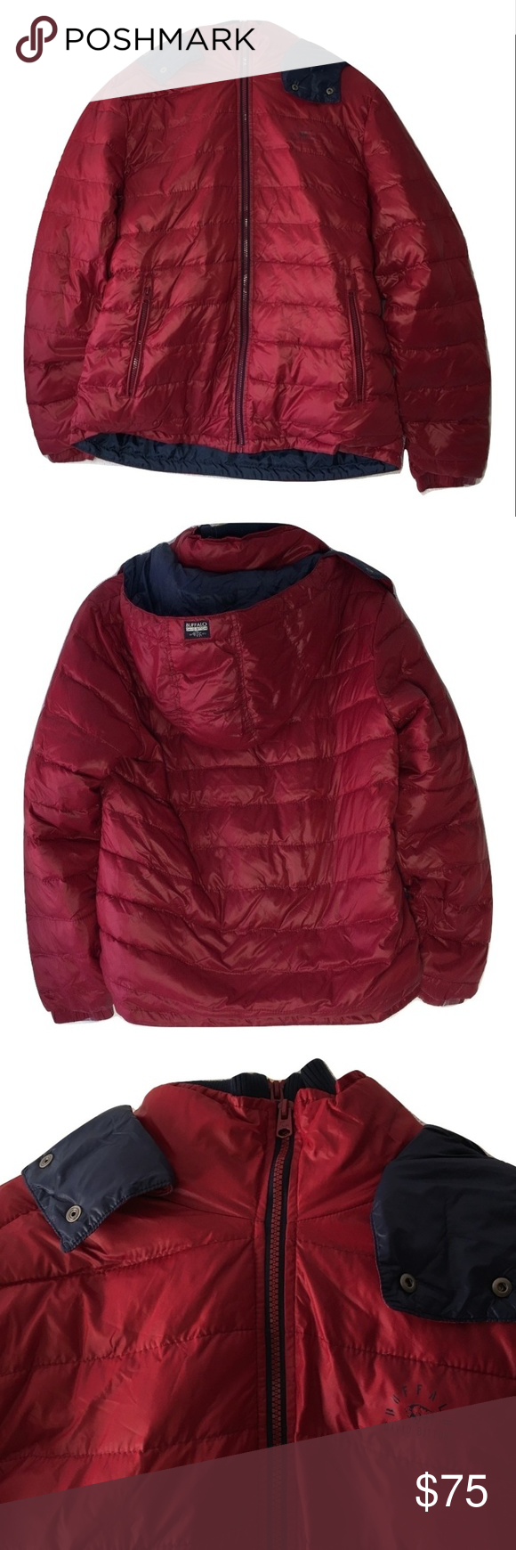 Buffalo David Bitton Juggles Down Feather Jacket Fashion Feather Jacket Clothes Design [ 1740 x 580 Pixel ]