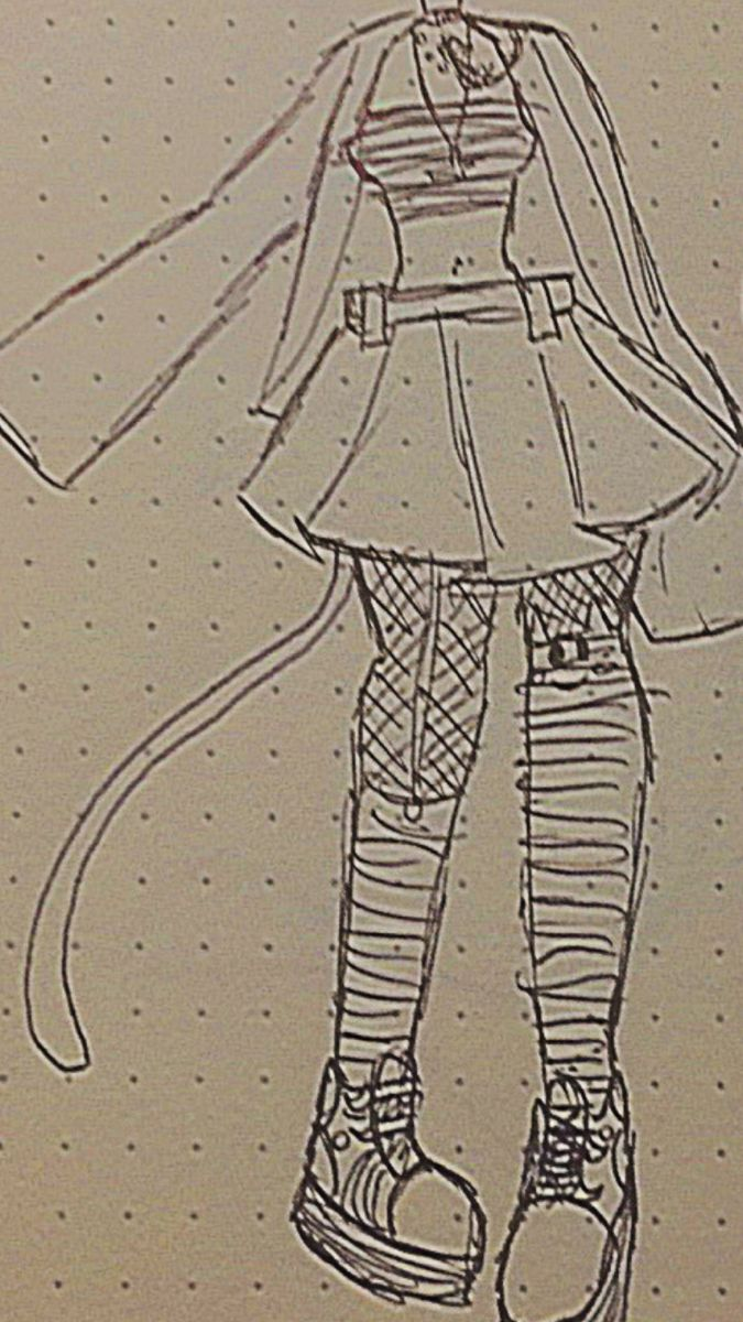 Photo of Alt drawing (Clothing design for women with alternative aesthetic)