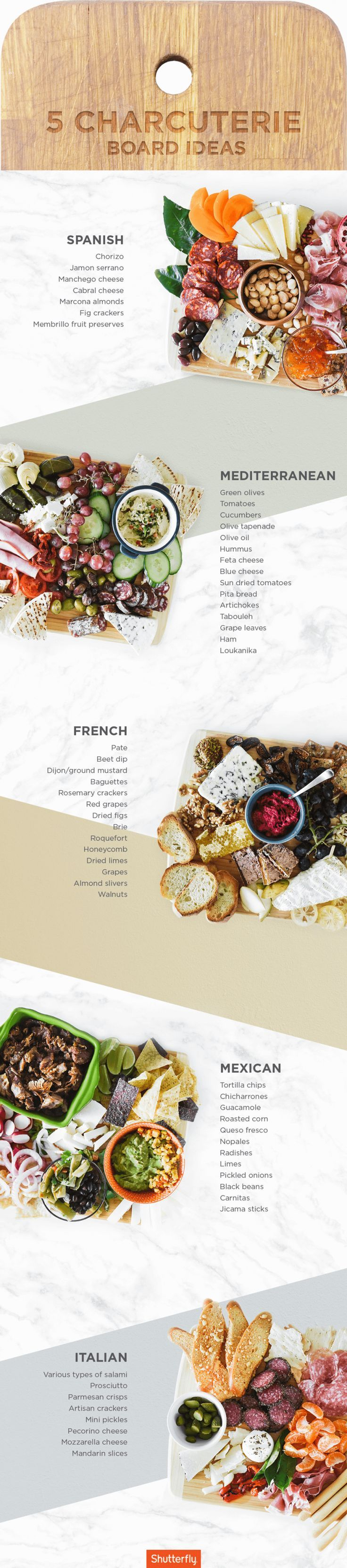 Build A Charcuterie Board 5 Ways | Shutterfly