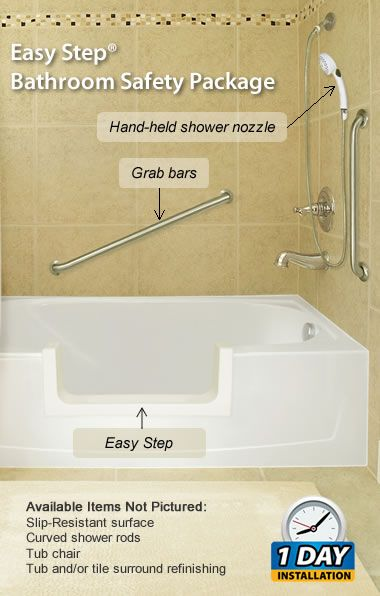 Easy Step Bathroom Safety Package With Images Bathroom Safety