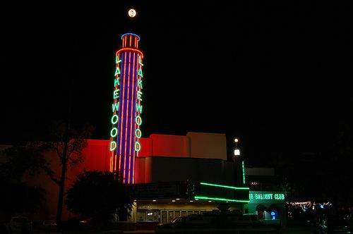 The Lakewood Theater Dallas, TX. Oh what stories this building can tell. This is only the ...