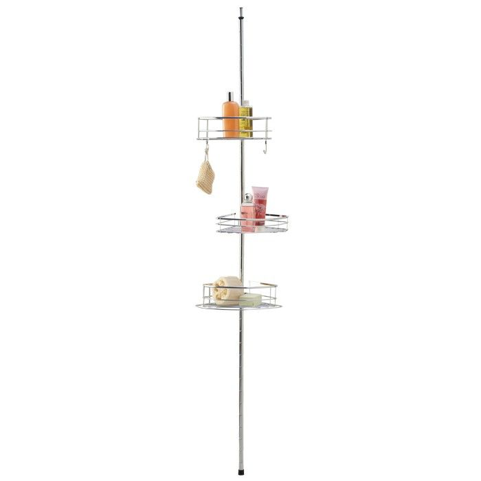 Ponder Tension Pole Shower Caddy - Shower Caddies - Bathroom Accessories - Bathroom