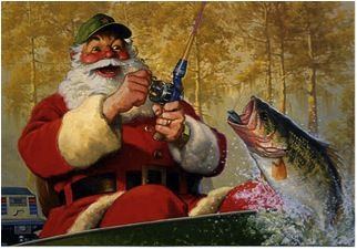 Fly Fishing Santa Claus Images Google Search Fish Alaska Fishing Best Fishing