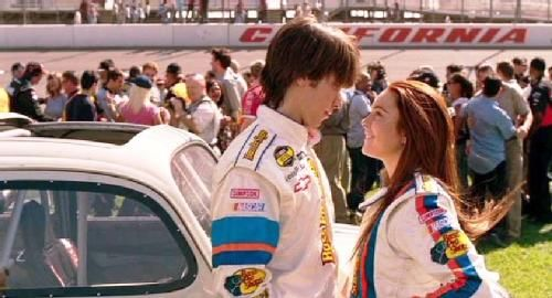 Herbie A Tope Kevin Maggie Peyton Justin Long Lindsay Lohan Herbie A Tope I Herby Fully Loaded I 2005 Disney Live Action Justin Long Live Action