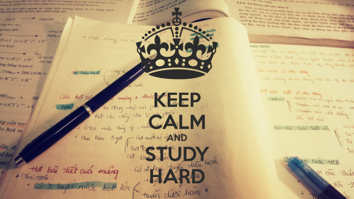 Keep Calm And Study Hard Wallpaper Hd 1080p High Resolution