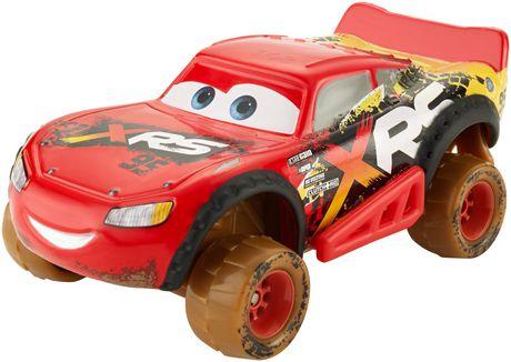 Cars 3 Disney Pixar Cars Xrs Mud Racing Lightning Mcqueen Vehicle Disney Pixar Cars Pixar Cars Mud Racing
