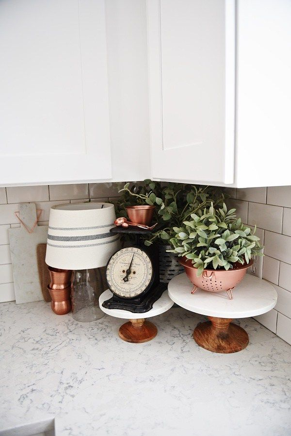 Spring Copper Kitchen Refresh