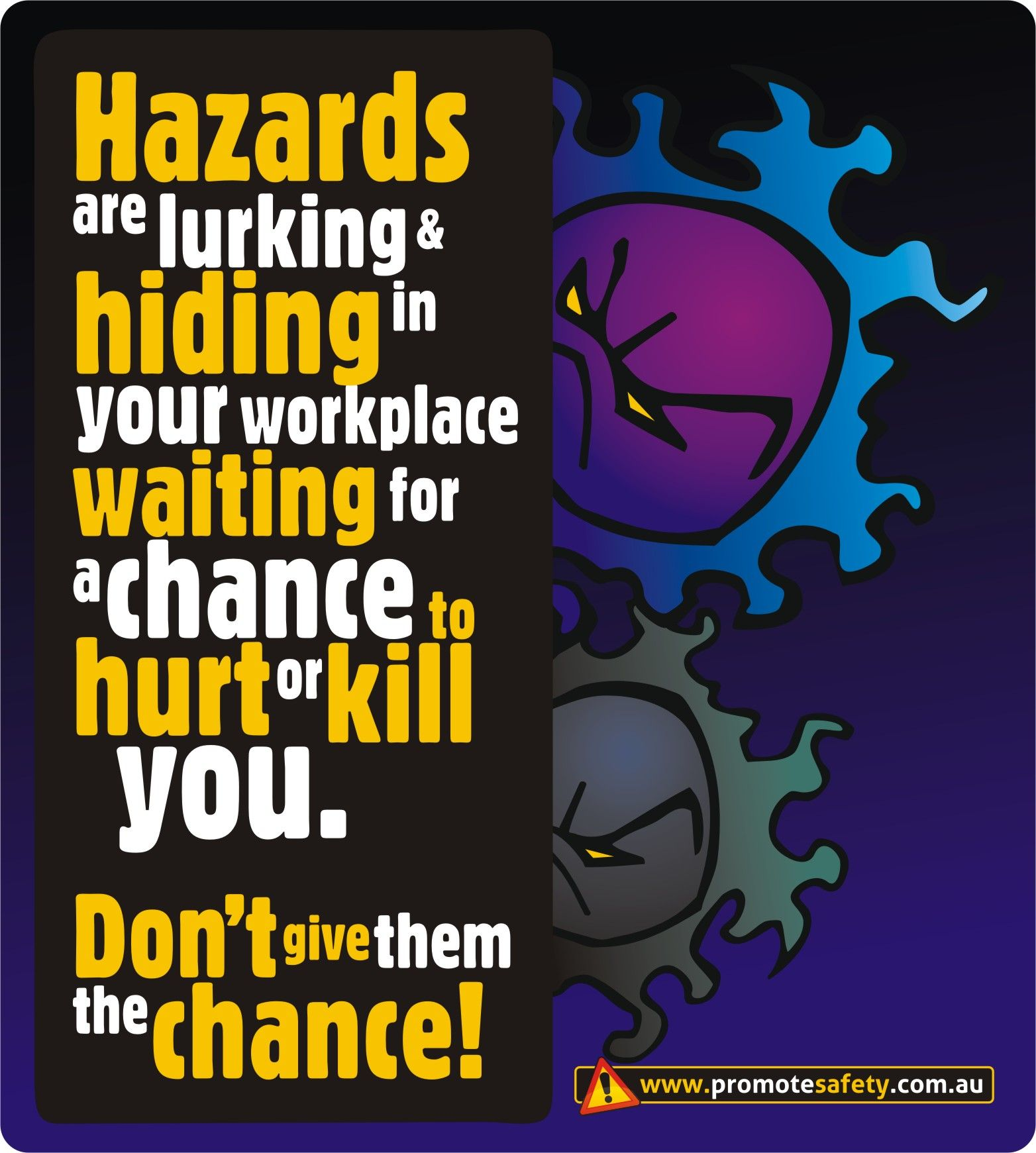 Health, Safety Poster, Industrial