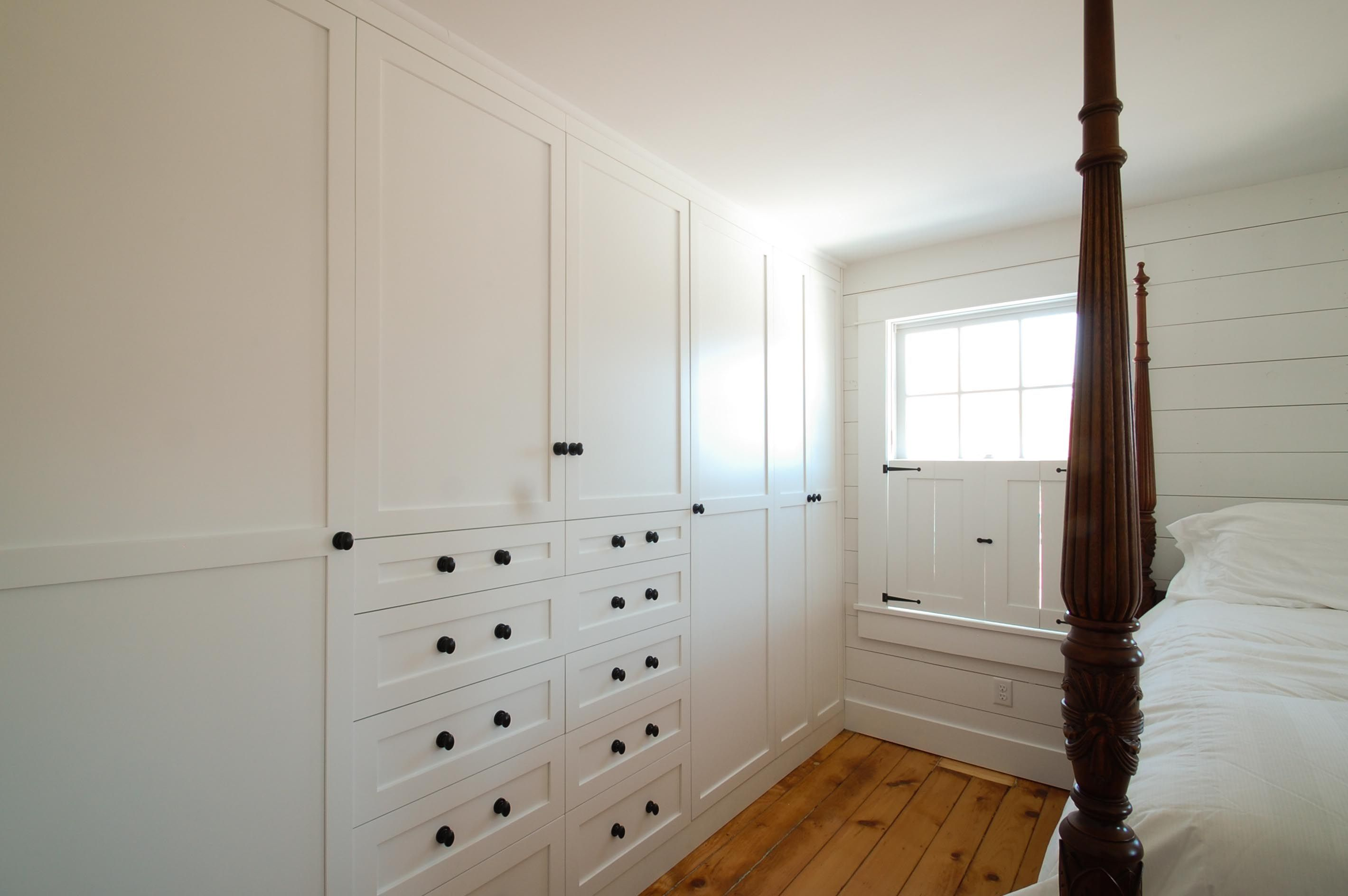 Nice White Shaker Style Wardrobe Closet In Taylor Falls, MN.