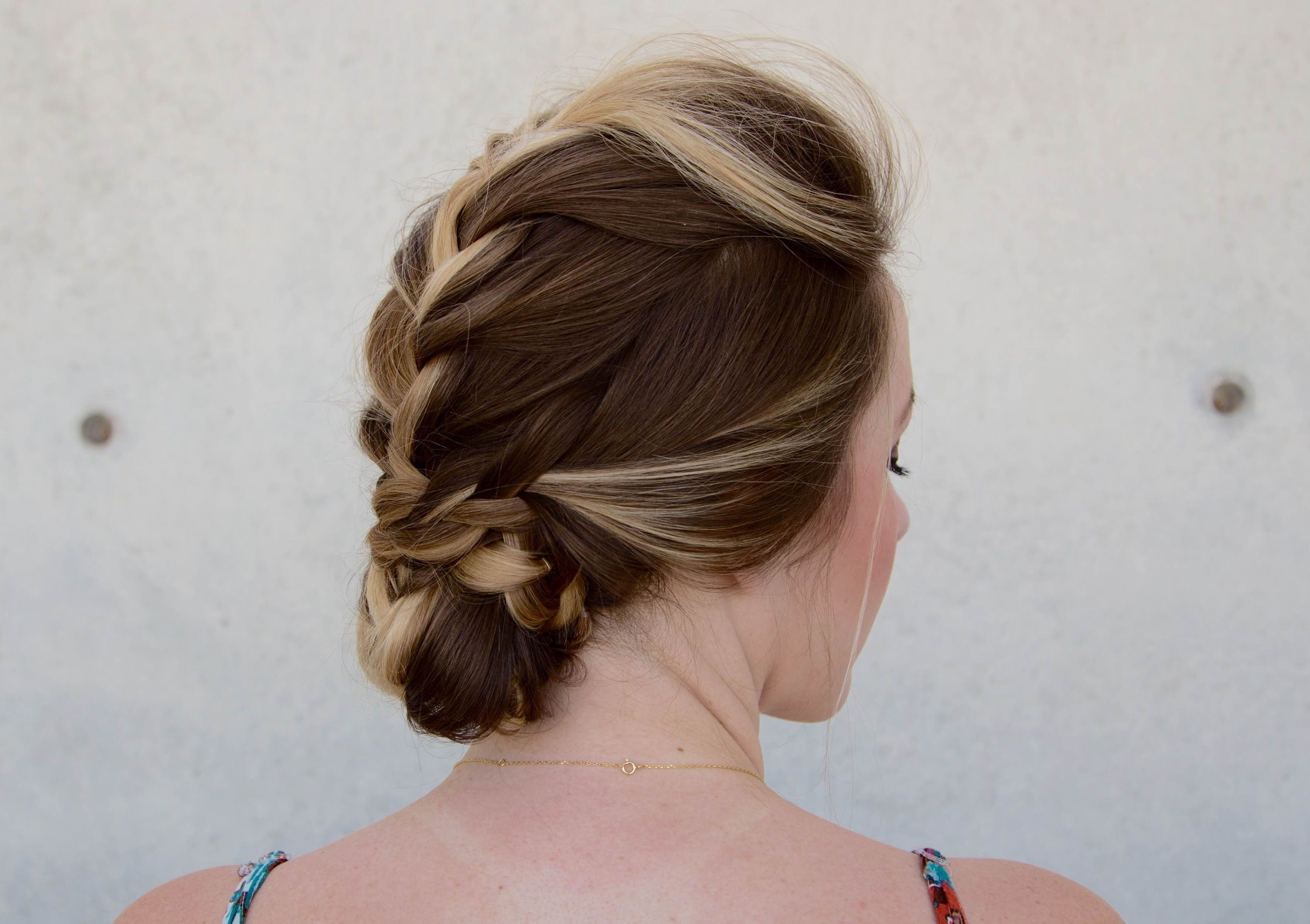 French braid hawk hair pinterest french braid hair tutorial