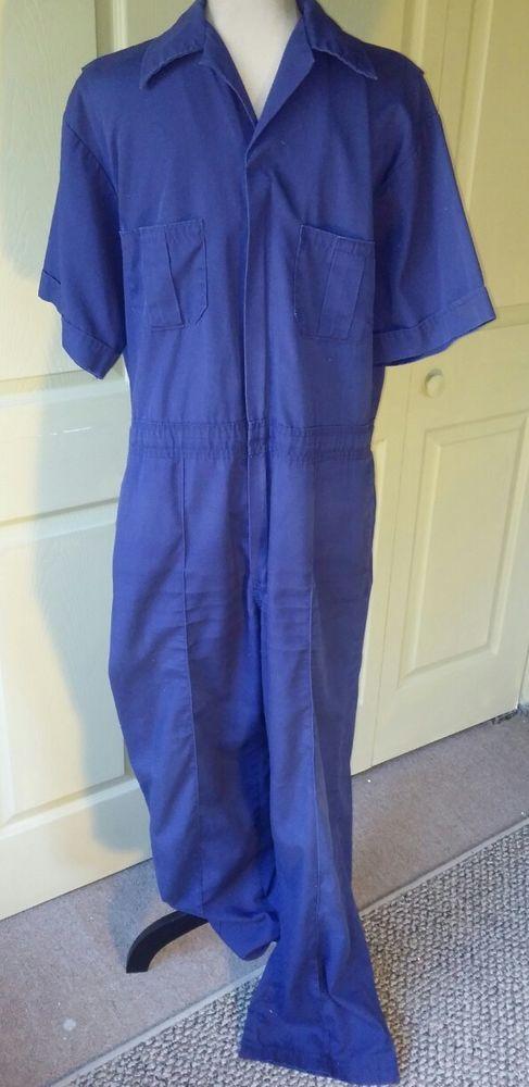 amazing price suitable for men/women timeless design Wall's VTG Men's Coveralls Jumpsuit One Pc~Sz 42 44~Navy ...
