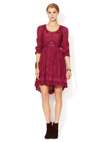 Montana Embroidered Dress by Free People at Gilt