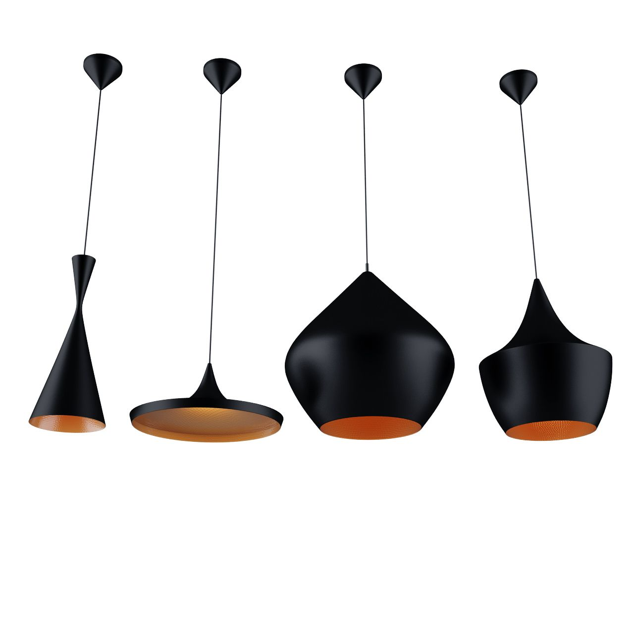 free 3d model well known beat lights by tom dixon all. Black Bedroom Furniture Sets. Home Design Ideas