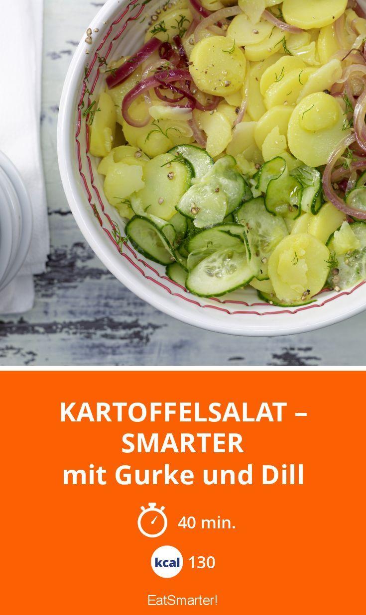 kartoffelsalat smarter rezept essen kartoffelsalat salat und kartoffelsalat mit gurke. Black Bedroom Furniture Sets. Home Design Ideas