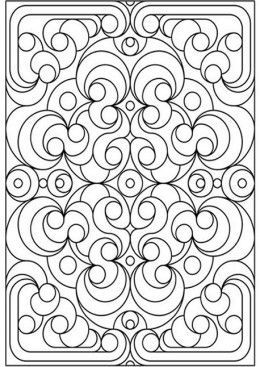 classic wallpaper pattern coloring pages google search - Geometric Patterns Coloring Pages